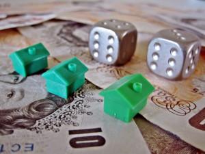 ceny domów, pieniądze, funty, domki, domek, dom